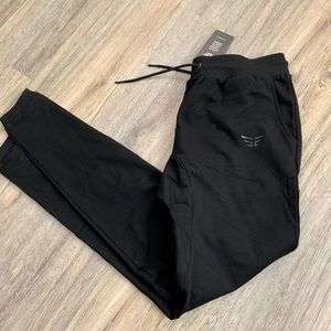 Black edge work out pants